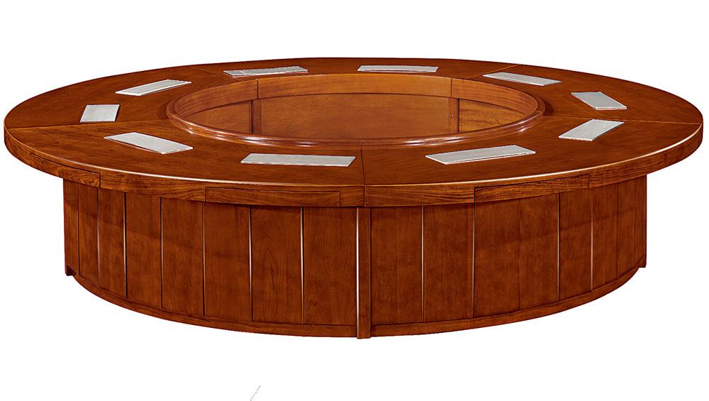 实木会议桌 圆形会议桌oyt-b3236